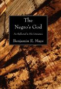 The Negro's God as reflected in his literature