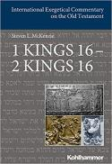 1 Kings 16 - 2 Kings 16 (International exegetical commentary on the Old Testament)