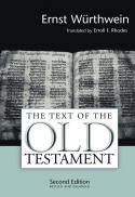 The text of the Old Testament : an introduction to the Biblia Hebraica (2nd ed.)